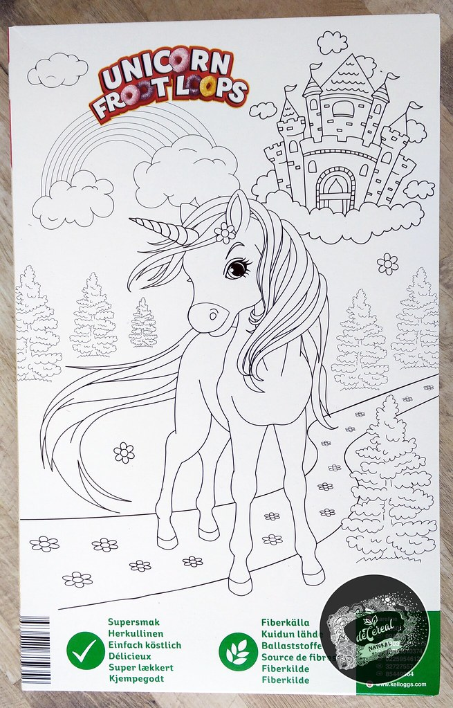 Unicorn Froot Loops Ausmalbild Mandala Unicorn Einhor
