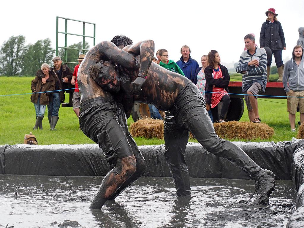 Mud Wrestling at the Lowland Games | Ken Wewerka | Flickr