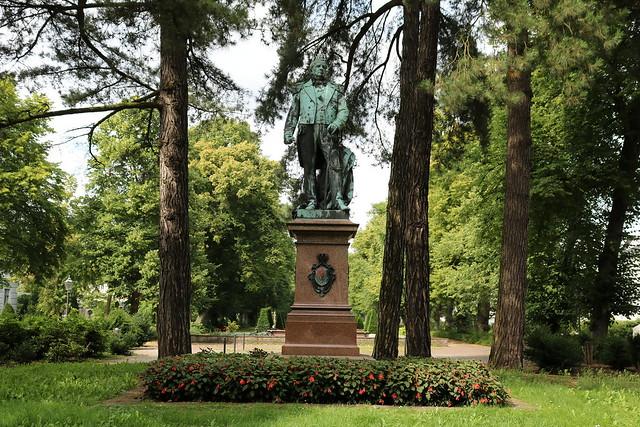 Wilhelmshaven: Denkmal für Prinz Adalbert von Preußen