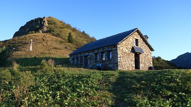 Bivacco all'Alpe Mottàc, Parco Nazionale ValGrande