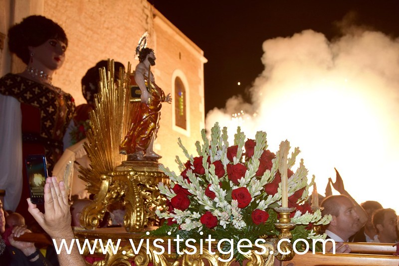 """""""Sant Bartomeu"""", Fiesta Mayor de Sitges"""
