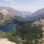 Oldman Lake overlook