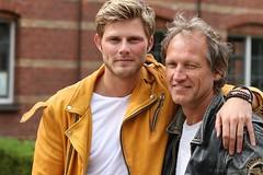 "Tim Douwsma en Steven de Jong - Persdag nieuwe film ""Spaak"" in Amsterdam"