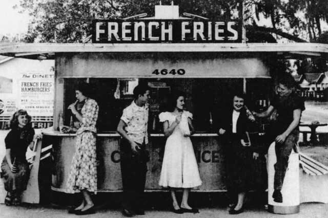 French Fries - 1955