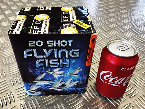 Flying Fish 20 Shot Cake #EpicFireworks