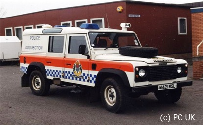 Land Rover Defender 110 Police – 1990