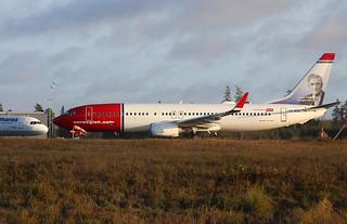 LN-NGK Boeing 737-8JP/W, Norwegian Air Shuttle at Stockholm/Arlanda ESSA. | by Krister Karlsmoen