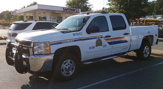 RCMP Chevrolet Silverado HD