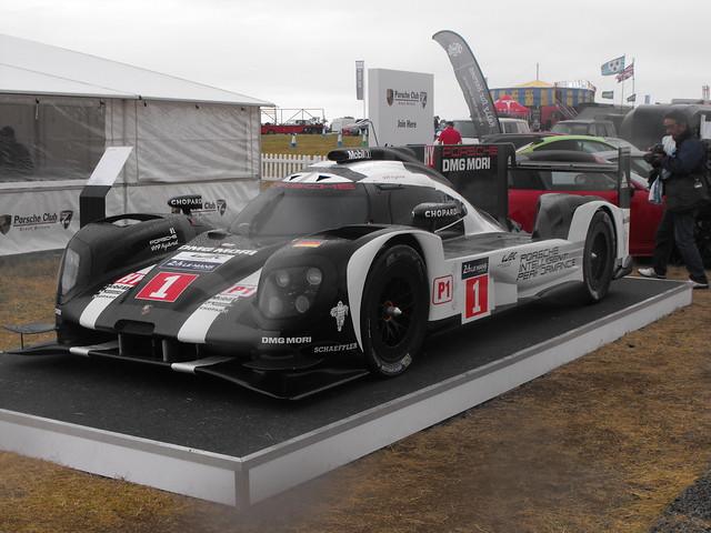 Big Hairy Porsche @ RIAT - July 2017