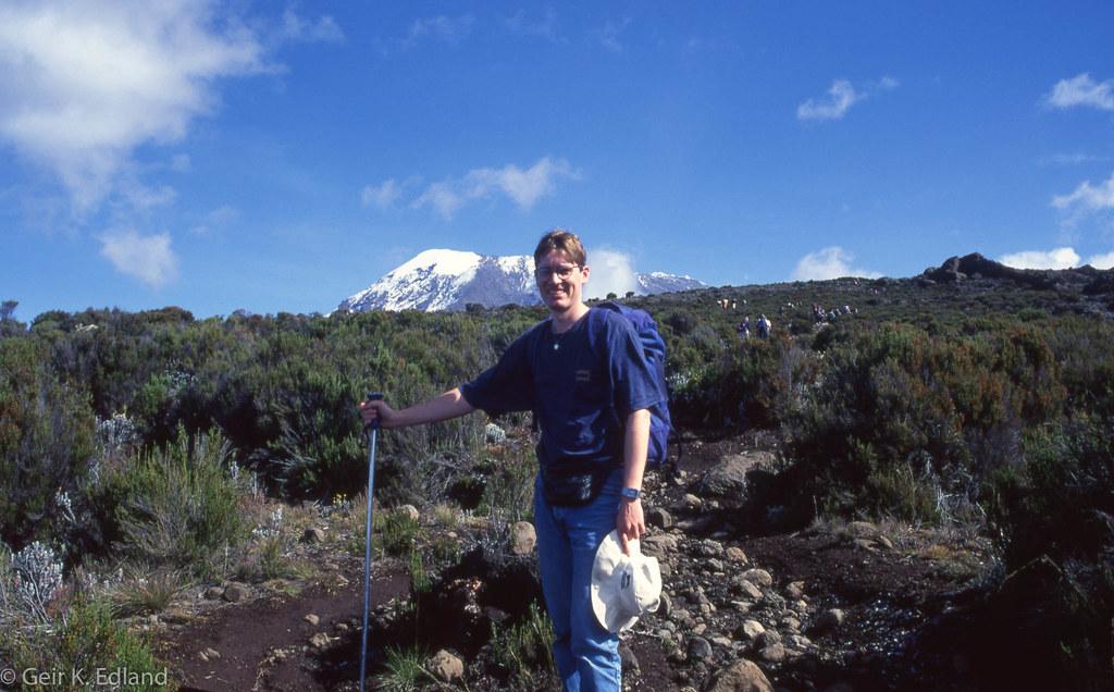 Kilimanjaro - view from the Marangu route