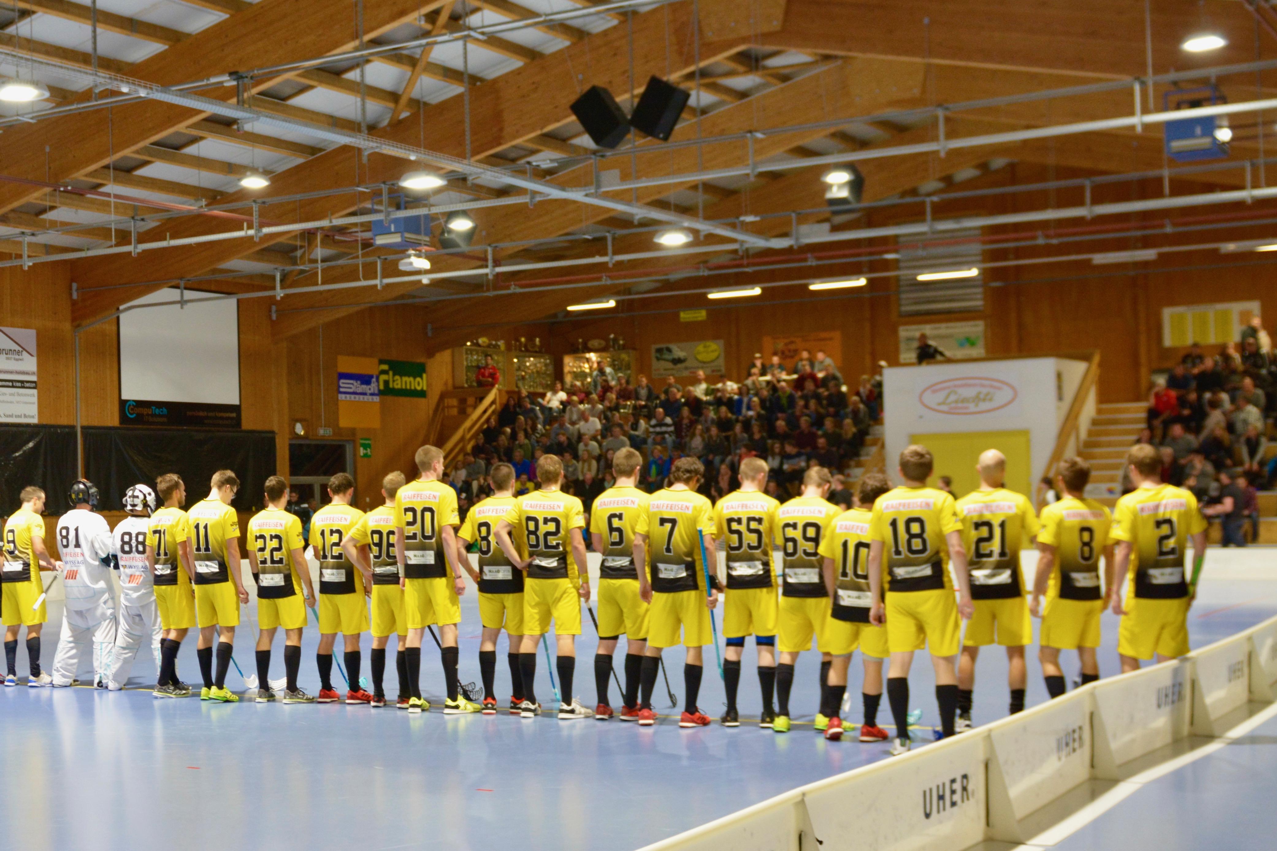 Herren I - CH-Cup 16-Final UHC Thun NLA Saison 2017/18