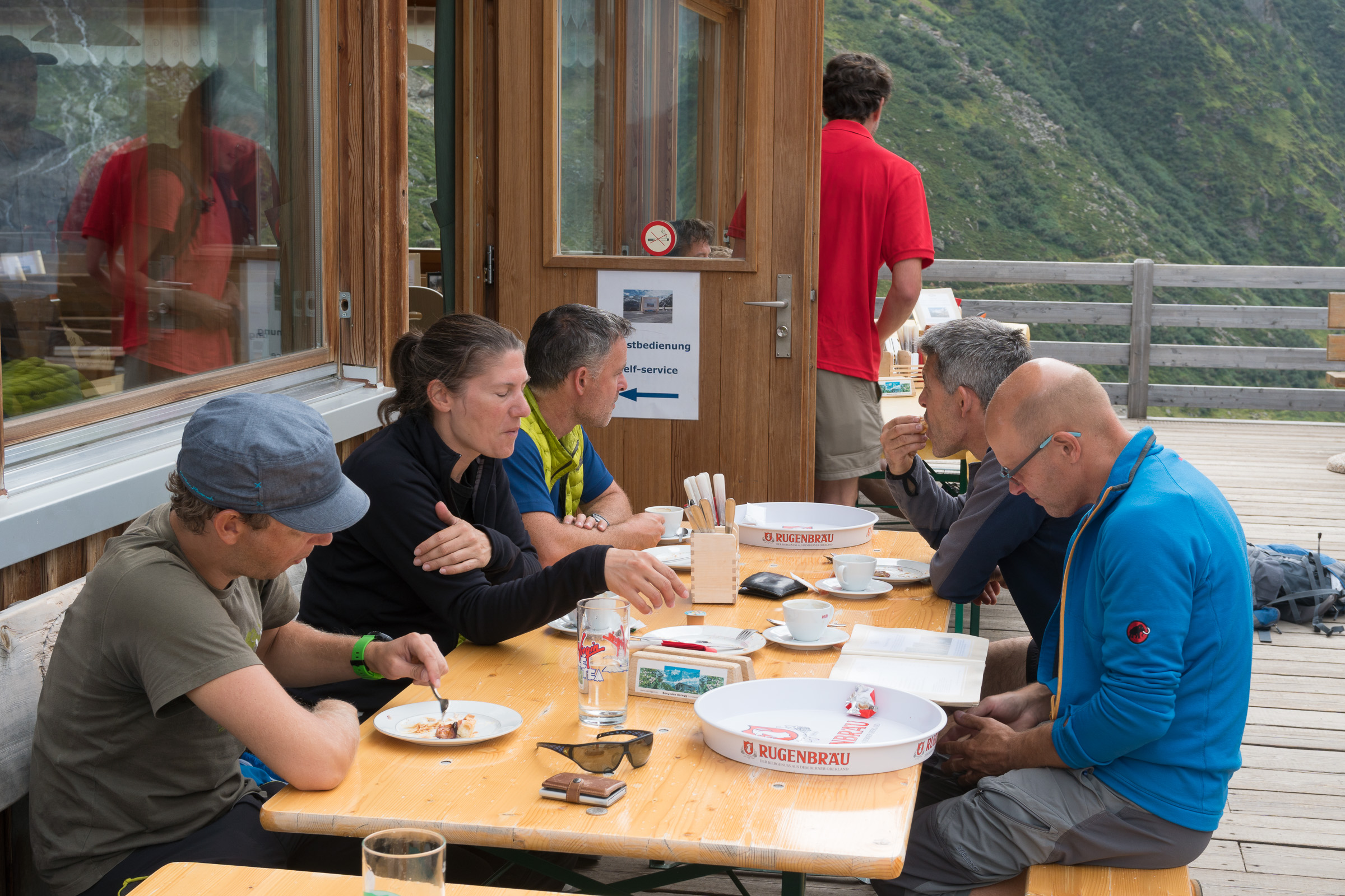 Hochtourentage Schreckhornhütte - Grindelwald 27.08.2017