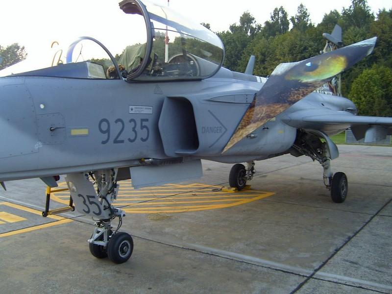 Saab JAS-39C flunssa 3