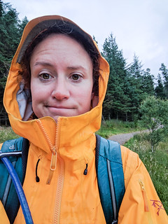 rain jacket for the win on Ben Nevis | by angelatravels11