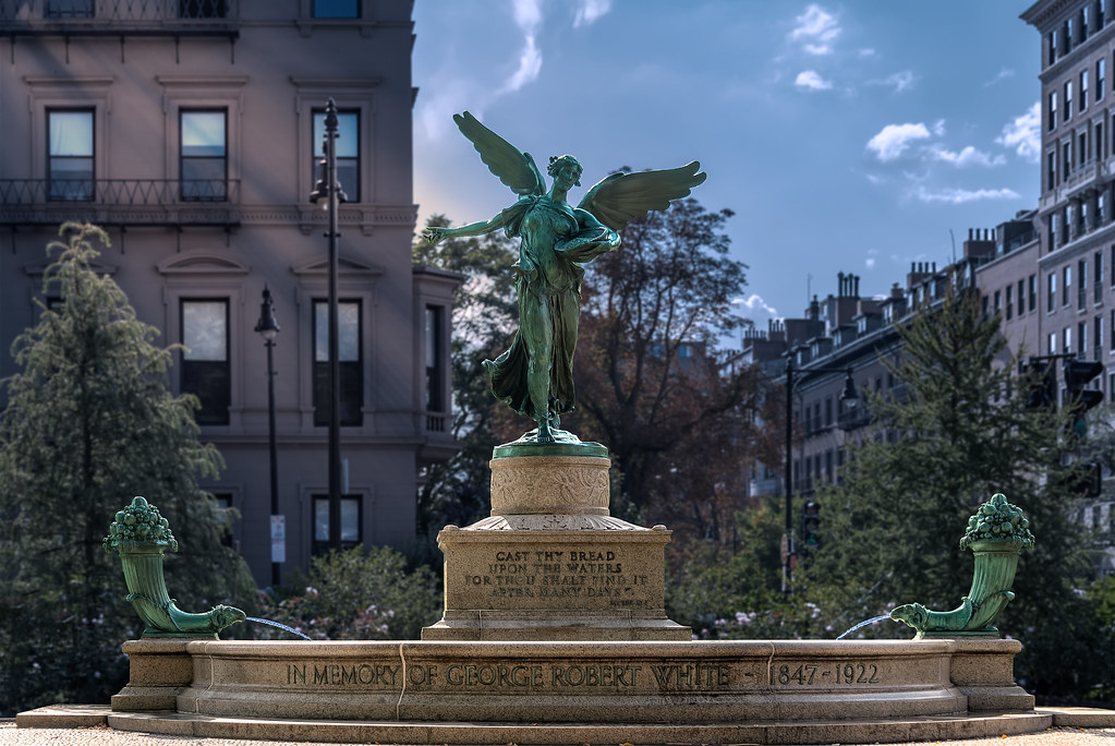 George Robert White Memorial in Boston Public Garden