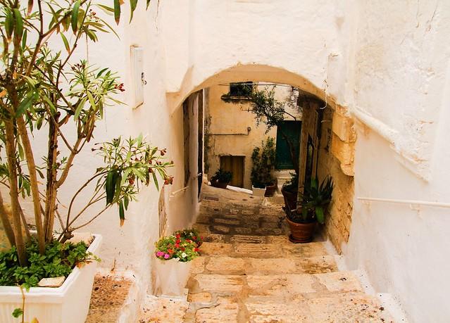 Apulian staircase