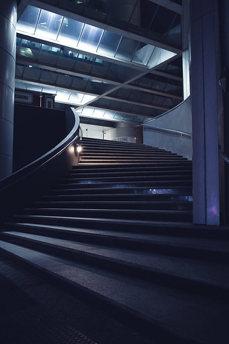 Stairs   by VirtualWolf