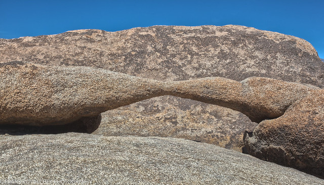 Very small arch near Mobius Arch
