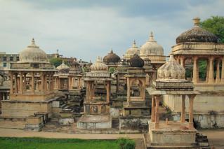Royal Canotaphs, Udaipur, India