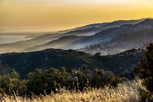 malibu california topanga tunacanyonpark landscape hills sunset