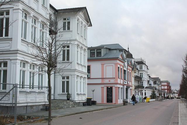 Dünenstraße in Seebad Ahlbeck
