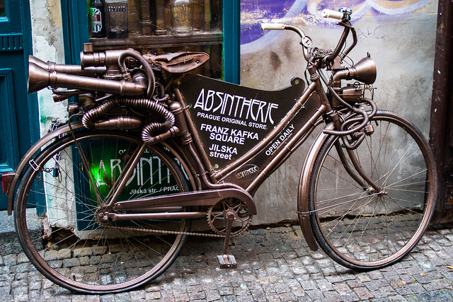Bike in Prague
