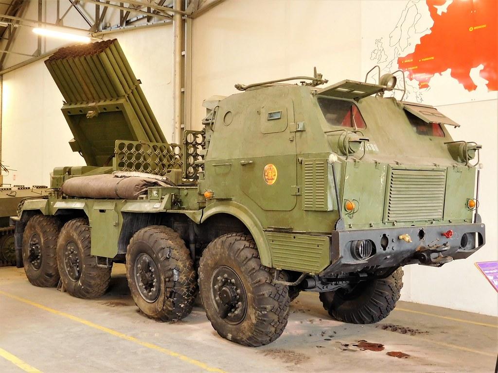 RM-70 Multiple Rocket Launcher   Czechoslovakian Tatra T813
