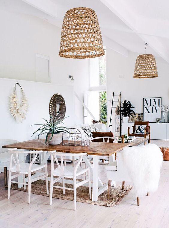Boho Chic Kitchen Dining Room Meg Maran Flickr