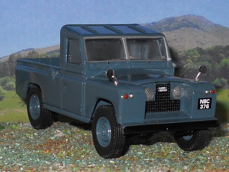 Land Rover Serie I – PickUp – 1954