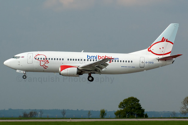 G-TOYD BMI Baby B737-300 East Midlands Airport
