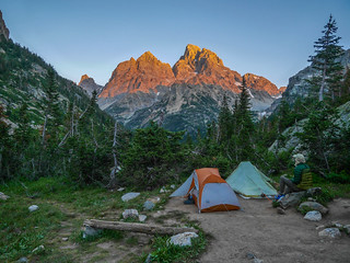 Camp 2, North Fork Cascade Canyon   by snackronym