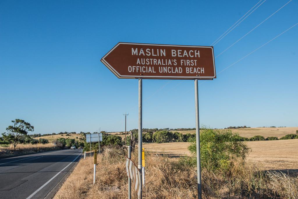 Maslin Beach Australias First Official Nude Beach, Sout -7757