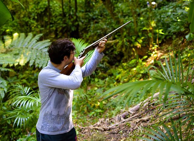#caça