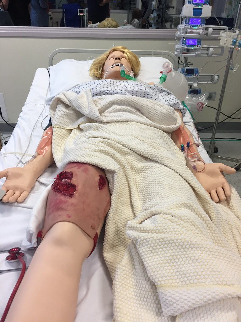 2ac158b0e1 Dummy at Bristol Medical Simulation Centre   shellac   Flickr