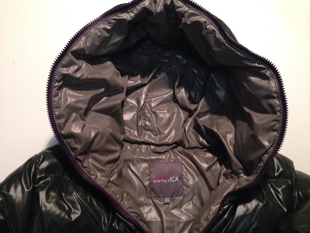 new concept f9b9e 04011 Duvetica - darkgreen down jacket front hood | Found on: eBay ...