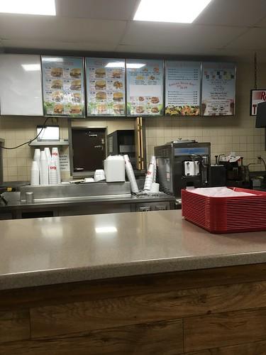 rax restaurant roast beef sandwich lancaster ohio counter