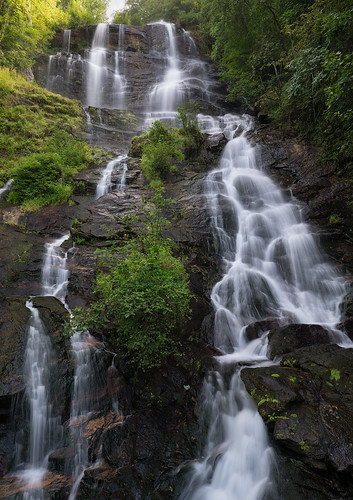 a7rii sony amicalola falls state park georgia long exposure