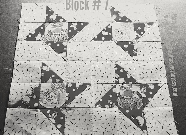 B&W of block 7