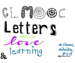 Doodle Letters #clmooc | by teach.eagle