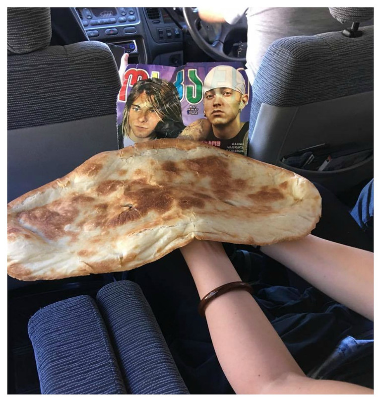 kenyér és túra felszerelés