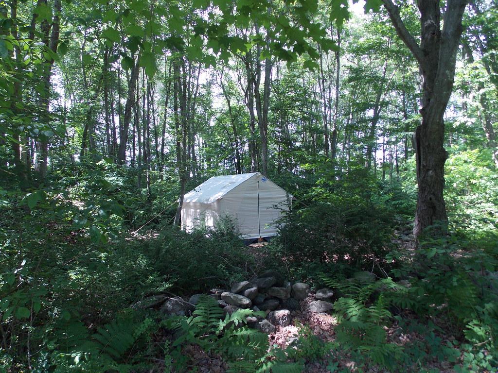 canvas wall tent   Davis Tent   Flickr
