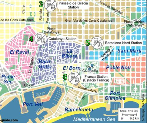 17h18 Mapa Barcelona Turistica Uti 485 Mapa Barcelona Tur Flickr