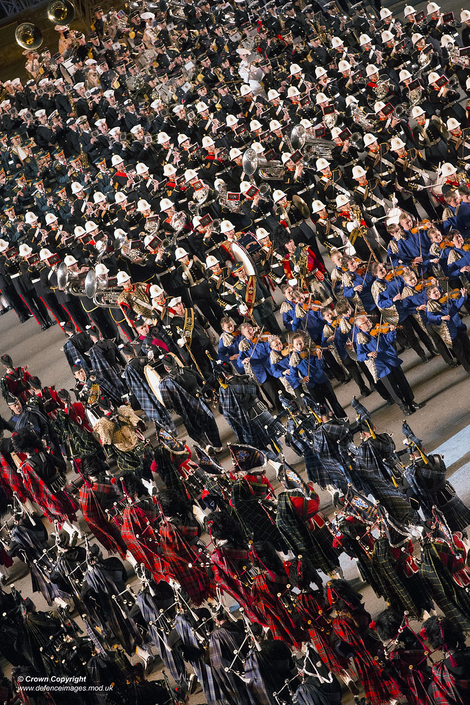 The Royal Edinburgh Military Tattoo Remt Pictured Are Mi