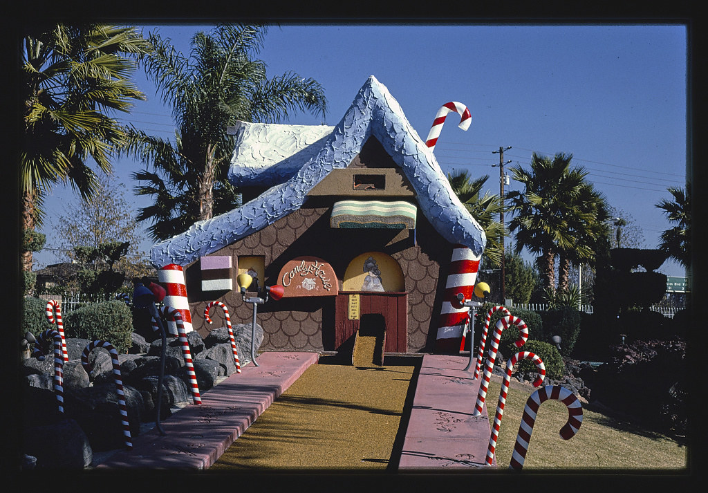 Castle Amusement, candy house, Riverside, California (LOC)