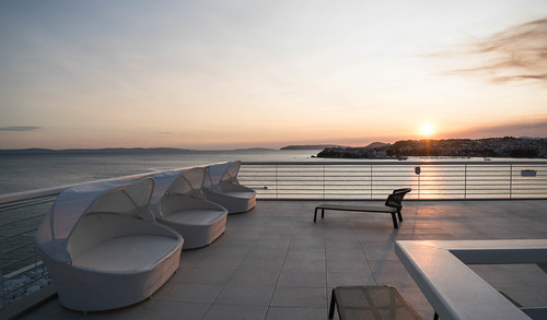 Rooftop of the Hotel Split - Split, Croatia