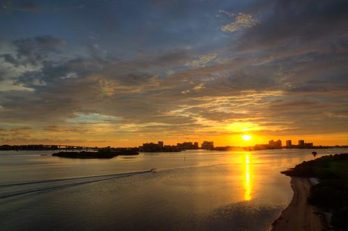 clearwater beach florida sunset water gulf bay clearwaterbeach cloud sky hdr beautiful clearwaterbeachflorida clearwaterflorida fla fl