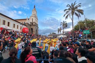 La Fiesta de la Jora 2017 in Cotacachi, Ecuador
