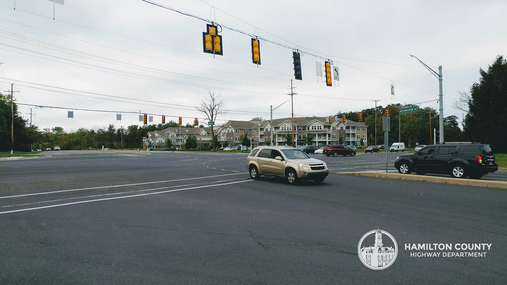 Allisonville & 146th St    current alignment   Hamilton County