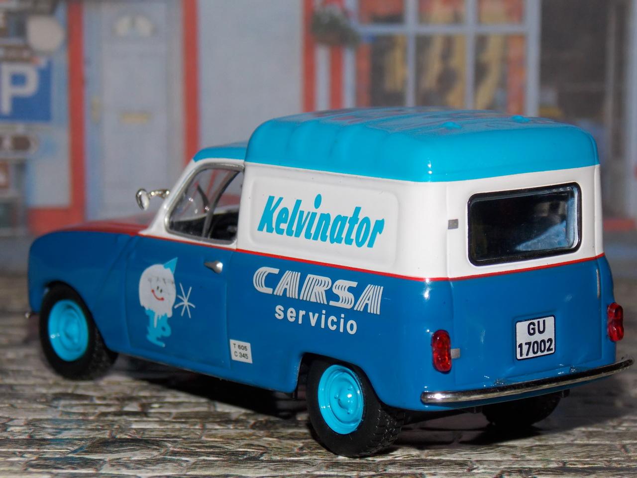 Renault 4 Fourgonnette – 1965 – Kelvinator