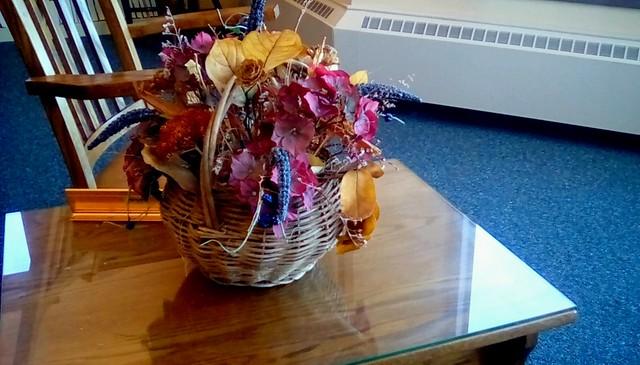 Autumn basket!